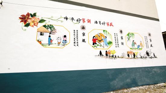 童画,好家风好家训_锦湖苑社区开展好家风,好家训主题夏令营