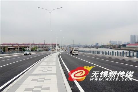 无锡运河西路主体工程完工 5月中旬通车