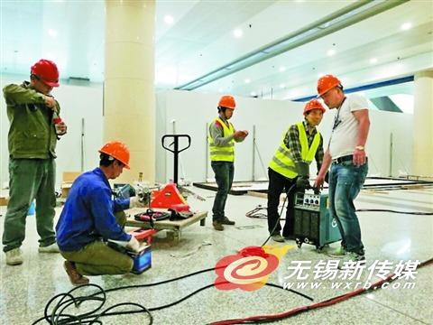 苏南硕放国际机场老航站楼改造全面施工