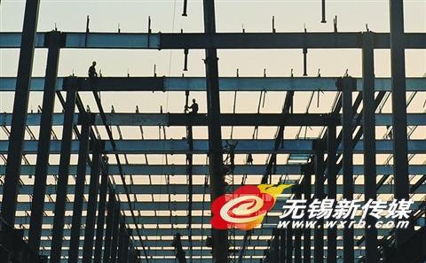 无锡一汽车生产企业用钢结构建房降低成本