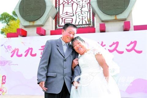 """无锡新吴区一社区13对金婚老人""""重温""""浪漫"""