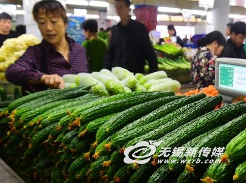 无锡9月CPI同比上涨2.8% 食品价格上涨4.9%