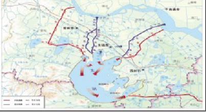 新孟河延伸拓浚路线